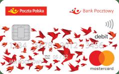 Bank Pocztowy Karta Mastercard debetowa