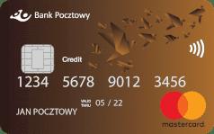 Bank Pocztowy Karta Mastercard kredytowa
