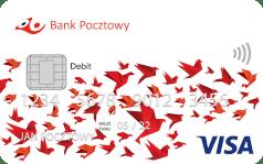 Bank Pocztowy Karta Visa debetowa