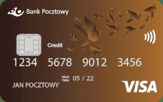 Bank Pocztowy Karta Visa kredytowa