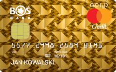 Karta kredytowa Mastercard Gold