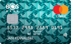Karta kredytowa Mastercard Standard