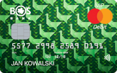 Karta debetowa Mastercard VIP