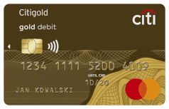 Mastercard Debit Gold Paypass