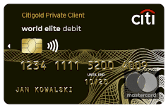 Mastercard Debit Private Client Paypass
