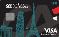 CA Visa Business walutowa EUR
