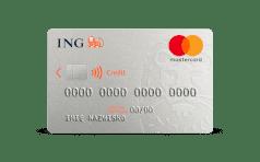 ING Mastercard CREDIT 3D