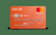 ING Mastercard debit eur 3D
