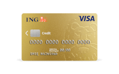 ING Visa Business Gold 3D