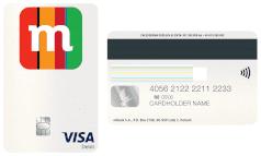 mBank Visa Debit PayWave M pionowa