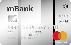 mbank mastercard world credit paypass