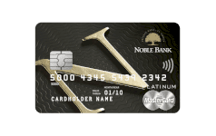 Karta Noble Private Banking Mastercard ELITE DEBIT