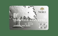 Karta Bankowości Osobistej Noble MASTERCARD PLATINUM DEBIT