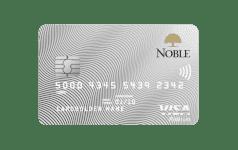 Karta Bankowości Osobistej Noble VISA PLATINUM CREDIT
