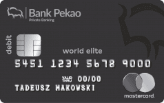 WorldElite Black Debit