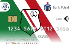Oficjalna karta ekstraklasy - Legia Warszawa