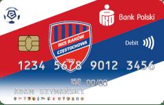 Oficjalna karta ekstraklasy - RKS Raków Częstochowa