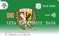 Oficjalna karta ekstraklasy - WKS Śląsk