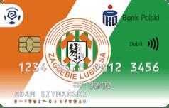 Oficjalna karta ekstraklasy - Zagłębie Lubin