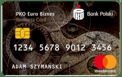 karta kredytowa PKO Euro Biznes
