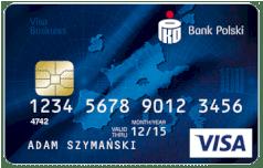 karta PKO Visa Business Waluta