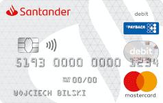 Karta SANTADER debit PAYBACK Mastercard