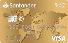 Karta SANTADER Gold VISA Business Charge