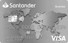 Karta SANTADER Silver VISA Business