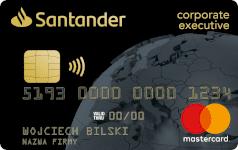 Karta SANTANDER CORPORATE black Mastercard