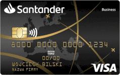 Santander karta business PLANET