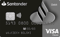 Santander karta debit vip