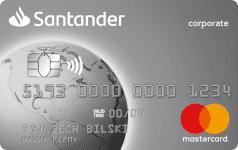 Karta SANTADER CORPO silver Mastercard