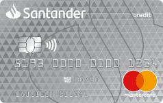 Karta SANTADER CREDIT grey Mastercard