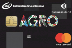 karta dla rolnictwa AGRO Mastercard Business Debit