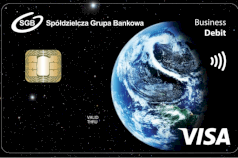 karta firmowa debet Visa Classic Business