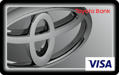 Toyota Bank quick silver debit