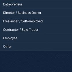 Zakładanie konta Curve: Sposób zatrudnienia