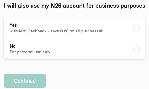 N26: Czy dodatkowe konto firmowe?