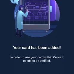Zakładanie konta Curve: Weryfikacja karty
