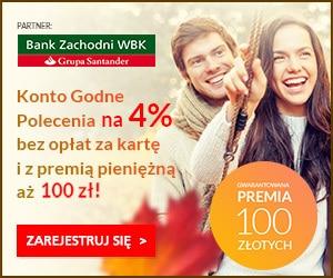 Konto Godne Polecenia + 100 zł