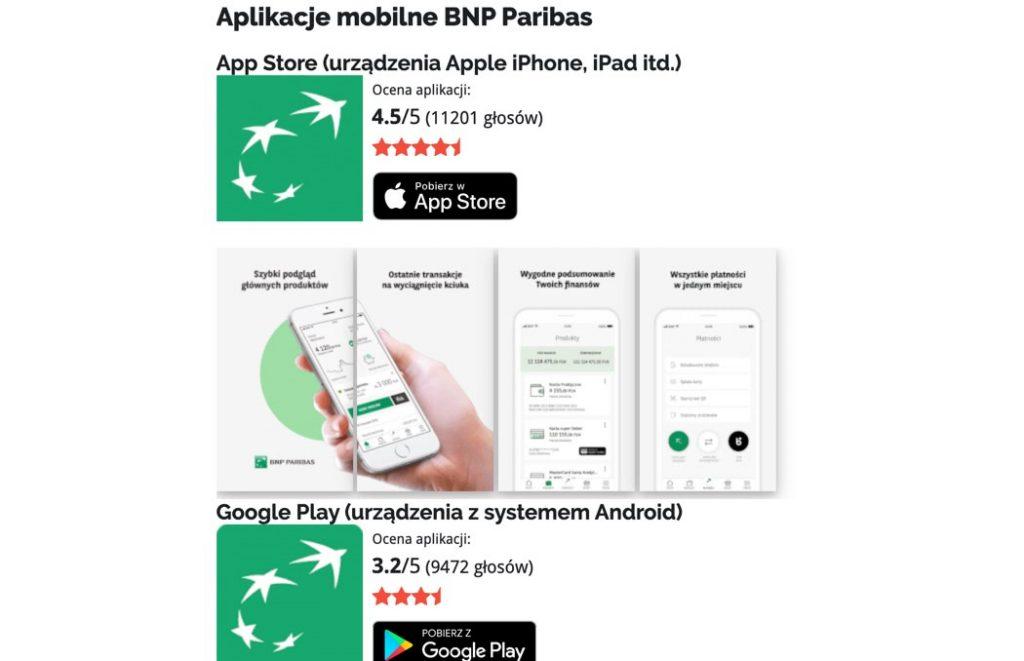 Bankowy Informator: Aplikacje na telefon