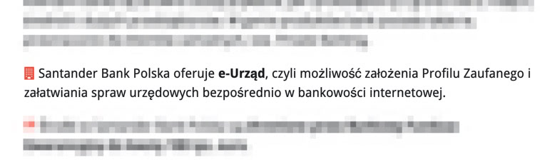 Bankowy Informator: e-Urząd