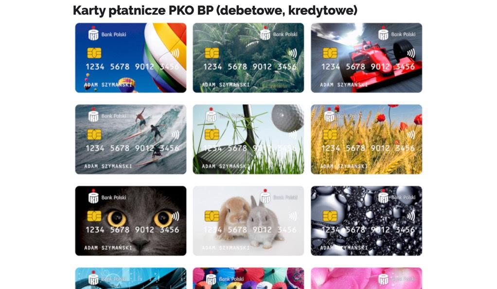 Bankowy Informator: Karty