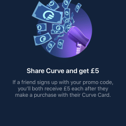Curve Promo code: kod polecający