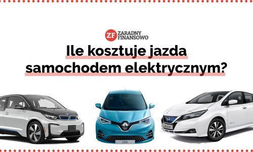Ile kosztuje jazda samochodem elektrycznym?