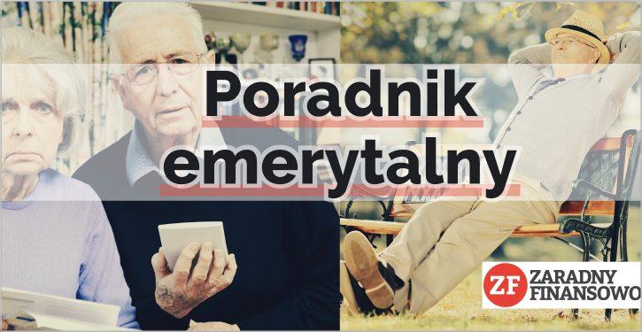 Poradnik emerytalny