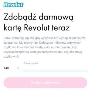 Promocja Revolut - Darmowa karta