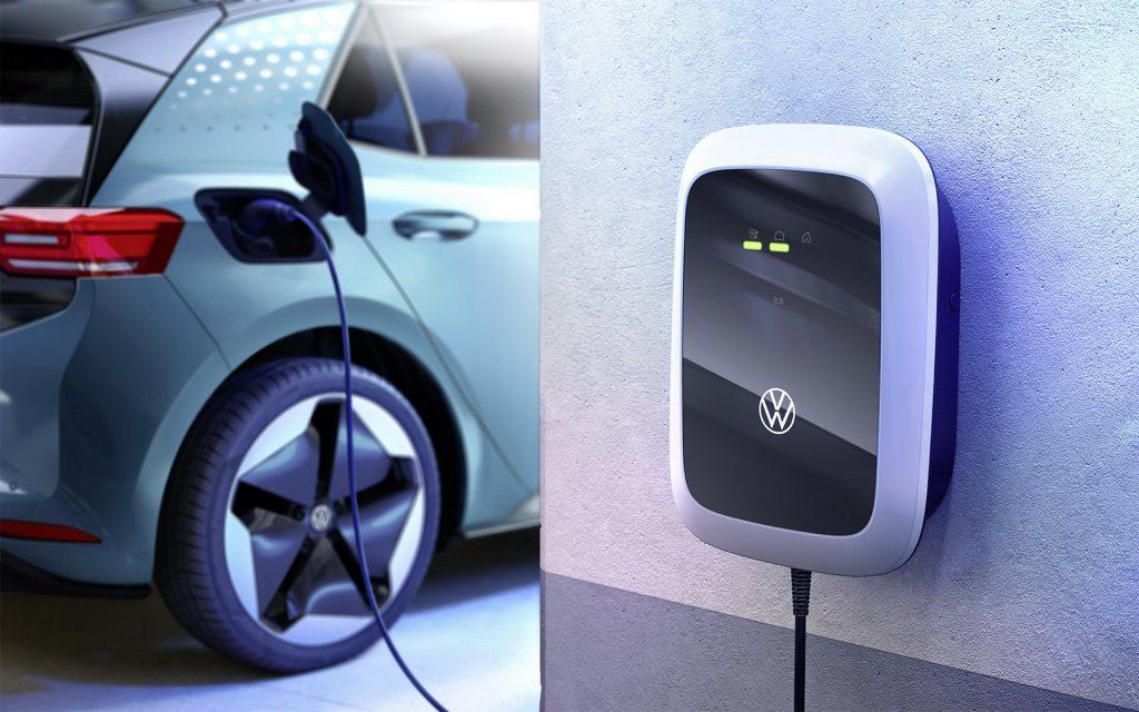 Wallbox - ładowarka samochodu elektrycznego od Volkswagena.
